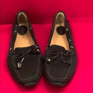Clarks Black Leather Loafers 9.5